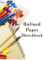Unlined Paper Sketchbook