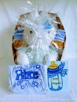 Geboorte Cadeau Vlinder met 14 Artikelen Blauw :NO 4
