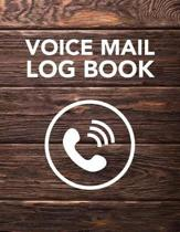 Voice Mail Log Book