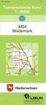 Wedemark 1 : 25 000. (TK 3424/N)