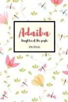 Adaiba Daughter of the People Journal