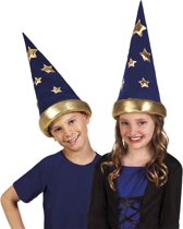 Tovenaar hoed voor kinderen - Verkleedhoofddeksel