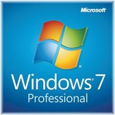 Windows 7 Professional DVD + licentiesticker - OEM - Engels - 64bit