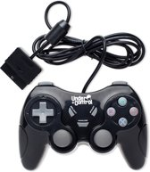 Under Control - Bedrade Playstation 2 Controller - Zwart