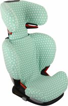 UKJE.NL Hoes zomerhoes autostoelhoes Maxi-Cosi RodiFix - Mint met sterren ♥