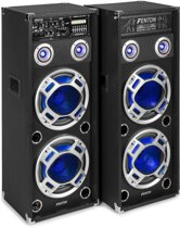 Actieve speakers - Fenton KA-210 - Actieve speakerset met Bluetooth, USB / SD mp3 speler e