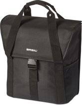 Basil Go-Single Bag Enkele Fietstas - 18 l - Solid Black