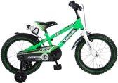 Kawasaki Kinderfiets - Jongens - 16 inch - Groen - 95% afgemonteerd