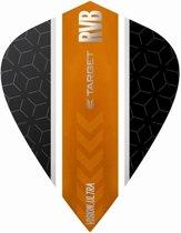 Target Ultra Raymond van Barneveld Kite Stripe Black Orange  Set à 3 stuks