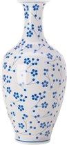 Pols Potten - Vaas -  Classic - Japanese Dot - Blue