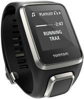 TomTom Spark Cardio + Music GPS Fitnesshorloge - Premium Edition - Zwart - Large