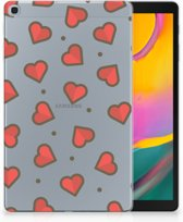 Samsung Galaxy Tab A 10.1 (2019) Backcase Design Hearts