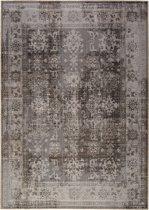 Vintage vloerkleed Tilas - antraciet - 160x230 cm