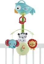Fisher-Price Rainforest Friends 3-in-1 - Muziekmobiel