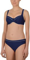 Badgoed Naturana-Beugel bikini-72360-Marine/Wit-B38
