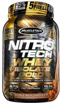 Nitro Tech Whey Plus Isolate Gold 907gr Chocolade