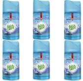6x Fresh & More Luchtverfrisser Odor Stop Mountain Breeze 250ml