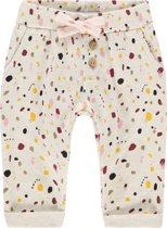 Noppies Broek regular fit Cairo all over print - Whisper White Melange - Maat 80