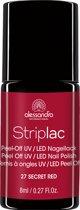 Alessandro Stiplac - 27 Secret Red - Gel nagellak