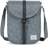 Herschel Supply Co Kingsgate Women Schoudertas Scattered Raven Crosshatch Black