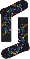 Happy Socks Guitarra Sokken - Zwart - 41/46