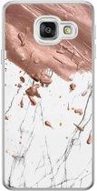 Samsung Galaxy A3 2016 siliconen hoesje - Marble splash