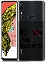 Huawei P Smart Z Hoesje Not recording you