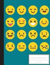 Cute Emoji Flat Style