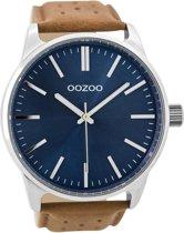 OOZOO Timepieces C9422 Metaal Bruin Blauw 48mm