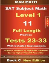 2018 SAT Subject Level 1 Book C Tests 23-33