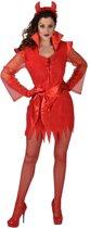 Duivel Kostuum   Brutale Halloween Duivel Sater Hel   Vrouw   Large   Halloween   Verkleedkleding