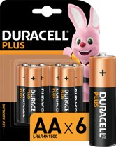 Duracell AA Plus Power - 6 stuks