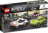 LEGO Speed Champions Porsche 911 RSR en 911 Turbo 3.0 - 75888