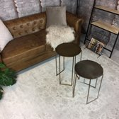 Vintage vloerkleed Eden 80x150 - Wit