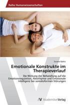 Emotionale Konstrukte Im Therapieverlauf