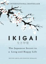 Boekomslag van 'Ikigai'