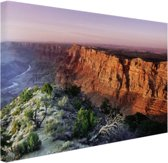 Grand Canyon Arizona  Canvas 120x80 cm - Foto print op Canvas schilderij (Wanddecoratie woonkamer / slaapkamer)