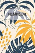 Mozambique: Ruled Travel Diary Notebook or Journey Journal - Lined Trip Pocketbook for Men and Women with Lines