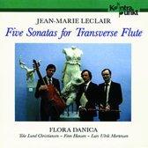 5 Sonatas For Flute