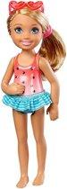 Barbie Club Chelsea Tienerpop Hartjes Zwempak 14 Cm