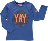 O'Chill Meisjes T-shirt -  Blauw  - Maat 98