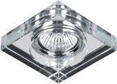 Spot Armatuur - inbouwspot - Glas - Vierkant - Transparant