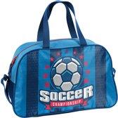 Sporttas - Voetbal - voor Jongens - 40 cm - Blauw