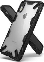 Fusion X Backcover Iphone Xr - Zwart / Black