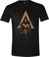 Assassin's Creed Odyssey - Character Logo Mannen T-Shirt - Zwart - M