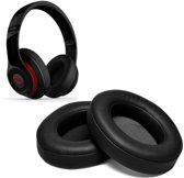 PU Lederen Earpads Oorkussens Voor Beats By Dr.  Dre Studio 2.0/3.0 Wireless Over-Ear Koptelefoon - Foam Kussens Set - Zwart