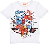 Nickelodeon Paw Patrol - Kinder/Peuter/Kleuter- T-shirt - wit - maat 116