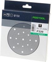 Festool Schuurschijf Briljant2 STF diameter 150/16mm P320-br2 (10 stuks) (Prijs per stuk)