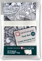 Zentangle Tool Set - 20-delig - Wit