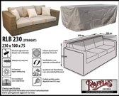RLB230 Beschermhoes loungebank 230 x 100 H: 75 cm